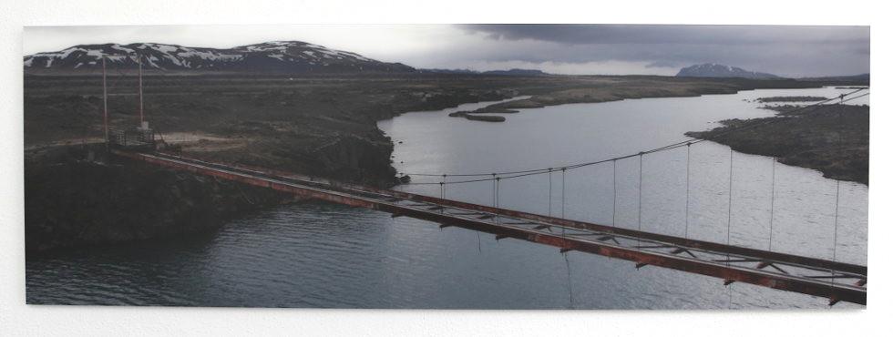 Wall Panel Iceland Bridge